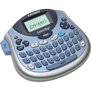 """Dymo LetraTag LT100-H Label Maker - 6.8mm/s Color - Tape - 0.47"""" - 160 dpi Auto Power OFF, Manual Cutter, Time Function, Date Function LABEL MAKER QWERTY"""