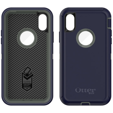 best website 63929 6f58e OtterBox - Defender Case Apple iPhone X Stormy Peaks