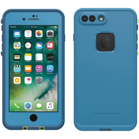 online store 6bc22 dba34 LifeProof - fre Case iPhone 7/8 Plus in Banzai Blue