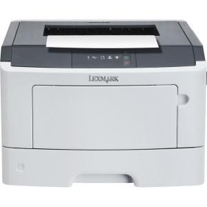 Lexmark MS317dn Laser Printer - Monochrome - 1200 x 1200 dpi Print - Plain Paper Print - Desktop - 35 ppm Mono Print - Folio, Statement, Oficio, Legal, Letter, Executive, B5 (JIS), DL Envelope, A6, Universal, A5, ... - 300 sheets Standard Input Capacity - 50000 Duty Cycle - 500 to 2500 Monthly Volume Recommended - Automatic Duplex Print - Ethernet - USB PRINTER