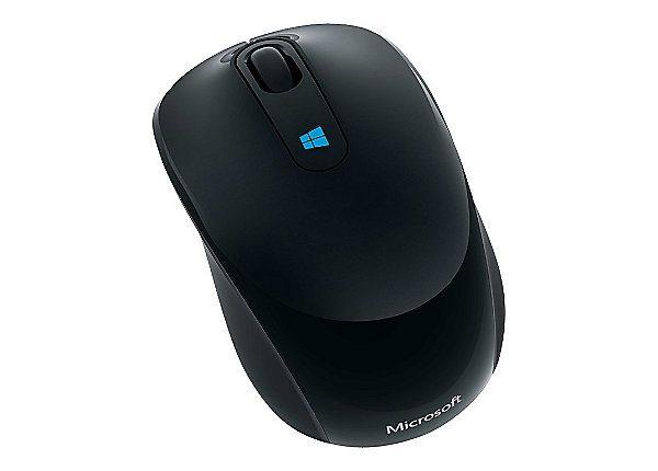 Microsoft Sculpt Mobile Mouse - mouse - 2.4 GHz - black