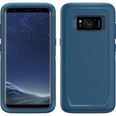 sale retailer 1a776 bfe4a OtterBox - Defender Case Samsung Galaxy S8 Bespoke Way Blue
