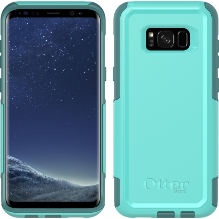 OtterBox - Commuter Series Samsung Galaxy S8 Plus Aqua Mint Way