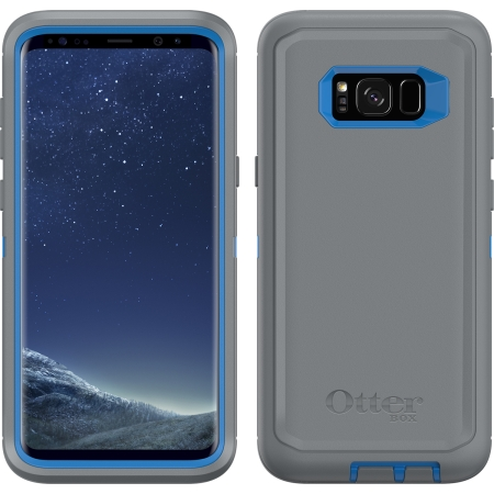 buy popular d4032 facfc OtterBox - Defender Case for Samsung Galaxy S8 Plus in Marathoner