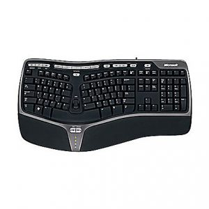 Microsoft Natural Ergonomic Keyboard 4000 for Business - keyboard - English