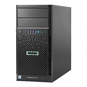 HP ProLiant ML30 G9 4U Micro Tower Server - 1 x Intel Xeon E3-1230 v5 Quad-core (4 Core) 3.40 GHz - 4 GB Installed DDR4 SDRAM - Serial ATA/600 Controller - 0, 1, 5, 10 RAID Levels - 1 x 350 W - 1 Processor Support - 64 GB RAM Support - Gigabit Ethernet - Matrox G200 Graphic Card - DVD-Writer 4G US SVR