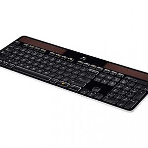 Logitech K750 Solar Wireless Keyboard - Black