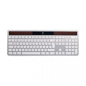 Logitech K750 Solar Wireless Keyboard - White