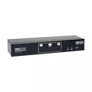 2-Port Dual Monitor DVI KVM Switch