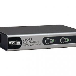 2-Port Desktop PS/2 KVM Switch w/ Cables