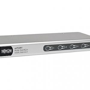 4-Port Desktop PS/2 USB KVM Switch