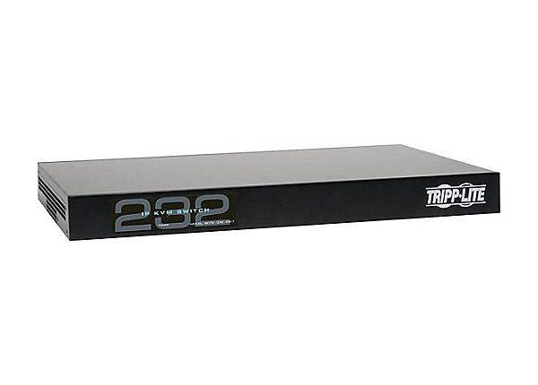 32-Port Cat5 Rackmount IP KVM Switch 2+1