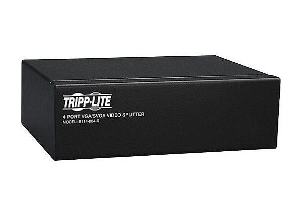 4-Port VGA/SVGA Video Splitter 350MHz