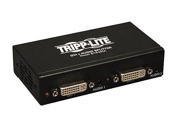 2-Port DVI Splitter Single Link Booster