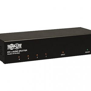 4-Port DVI Splitter Single Link Booster