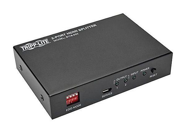 2-Port HDMI Video Audio Splitter 1080p