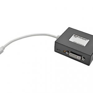 2-Port Mini DisplayPort to DVI Splitter