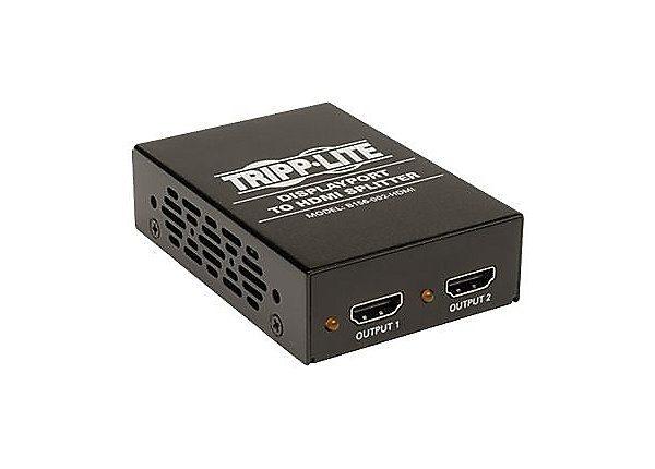 2-Port DisplayPort to HDMI MST Hub 4Kx2K