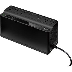 Schneider Electric Back-UPS 600VA Desktop UPS - 330 W - Input Voltage: 120 V AC - Output Voltage: 115 V AC - Desktop CHARGING PORT