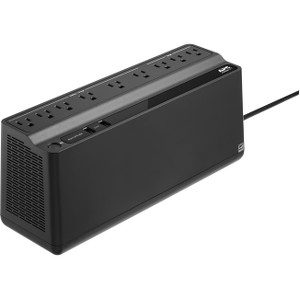 APC by Schneider Electric Back-UPS BE850M2, 850VA, 2 USB charging ports, 120V - 850 VA/450 W - 120 V AC - 9 x NEMA 5-15R CHARGING PORTS 120V