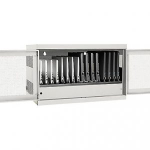 16-PORT AC CHARGING CART STATION WHITE