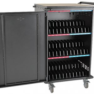 36-Port AC Charging Cart Storage Station