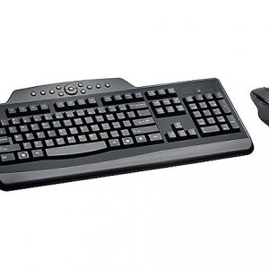 Kensington Pro Fit Wireless Media Desktop Set - keyboard and mouse set