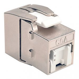 Cat6a Toolless Shielded Keystone Jack