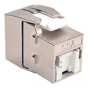 Cat6a Toolless Shielded Keystone Jack
