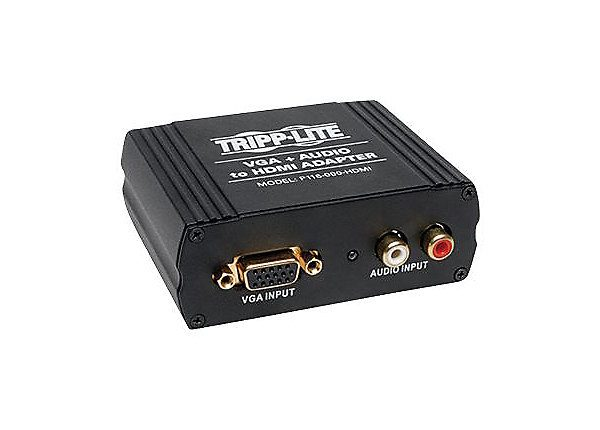 VGA to HDMI Adapter Converter A/V 1080p