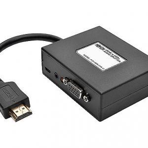 2PORT HDMI TO VGA SPLITTER ADAPTER 1080P