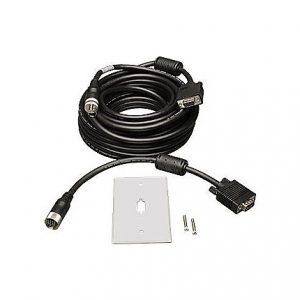 100ft VGA Coax Easy Pull Cable w/RGB M/F