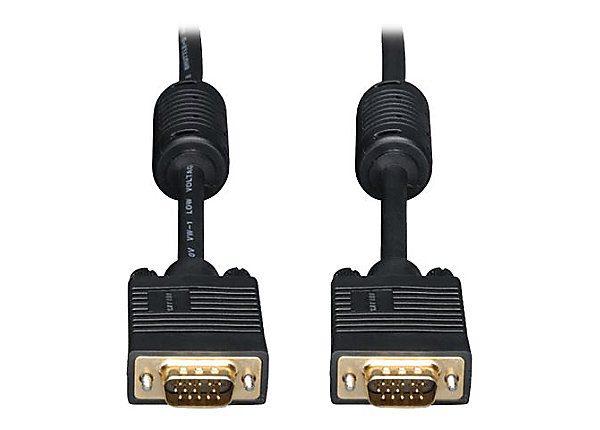 30ft VGA Coax Monitor Cable w/ RGB M/M