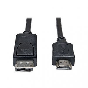 3ft DisplayPort to HD Cable Adapter M/M