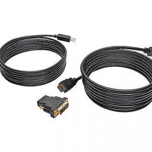 10FT HDMI DVI USB KVM CABLE KIT USB A/B