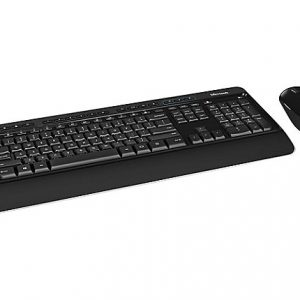 Microsoft Wireless Desktop 3050 - keyboard and mouse set - English - North