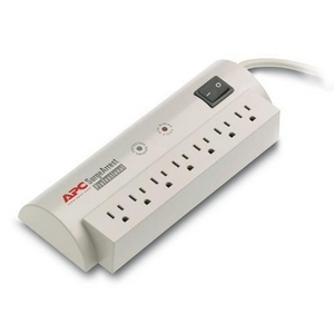 APC SurgeArrest Professional 7 Outlet 120V - Receptacles: 7 x NEMA 5-15R - 1680J NEMA $75K 6FT CORD 1680J 120V