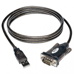 Tripp Lite USB to Serial Adapter Cable USB-A to DB9 RS-232 M/M 5ft 5'