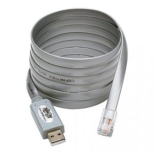 Tripp Lite USB to RJ45 Cisco Serial Roll over Cable USB Type A RJ45 M/M 6 f