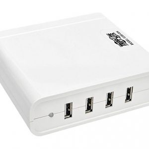 4-Port USB Charging Station Hub 5V 6A