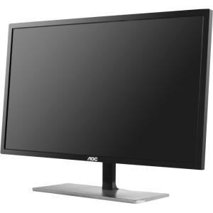 "AOC u2879Vf 28"" LED 4K 3840 x 2160 Monitor with FreeSync, HDMI, DP - 3840 x 2160 - 1.07 Billion Colors - 300 Nit - 20,000,000:1 - 4K UHD - DVI - HDMI - VGA - DisplayPort - Black - ENERGY STAR 6.0, cTUVus, RoHS DVI DISPLAYPORT 1MS"