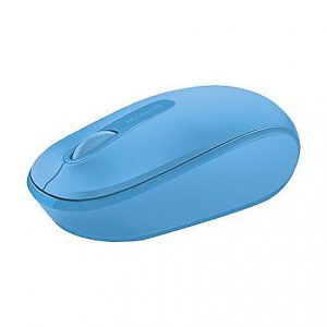 Microsoft Wireless Mobile Mouse 1850 - mouse - 2.4 GHz - cyan blue